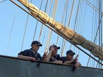 Personale della nave di navigazione Siedow Fotografia Stock Libera da Diritti