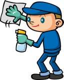 Personale di pulizia Immagine Stock Libera da Diritti