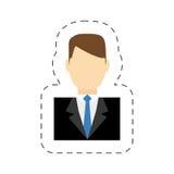 personale di servizio del direttore di hotel illustrazione di stock