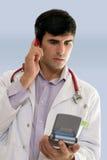 Personales del hospital Imagen de archivo libre de regalías