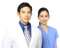 Personales médicos Foto de archivo