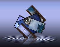 Personalidad mística Imágenes de archivo libres de regalías