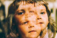 Personalidade tornando-se dos childs Foto de Stock