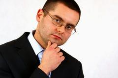 Personalità di affari Fotografie Stock