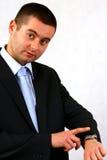 Personalità di affari Fotografia Stock Libera da Diritti
