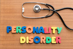 Personality disorder Royalty Free Stock Photos