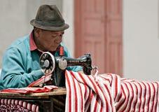 Personalización de la calle en el mercado de Saquisili, Ecua Fotografía de archivo