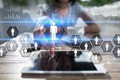 Personalmanagement, Stunde, Einstellung, Führung und Teambuilding lizenzfreie stockfotografie
