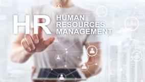 Personalmanagement, Stunde, Team Building und Einstellungskonzept auf unscharfem Hintergrund stockfotos
