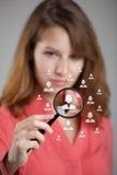 Personalresurser och CRM fotografering för bildbyråer