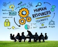 Personalwesen-Beschäftigung Job Teamwork Business Meeting Concept Stockbilder