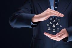 Personalwesen und Kundenbetreuung Lizenzfreie Stockbilder