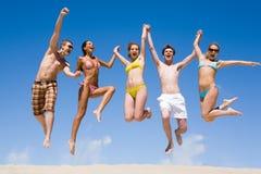 Personas alegres Foto de archivo libre de regalías