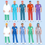 Personas 2.as del hospital 01 Imagenes de archivo