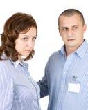 Personas con problemas Imagen de archivo libre de regalías
