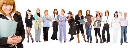 Personas con un arranque de cinta Imagen de archivo libre de regalías
