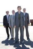 Personas confidentes del asunto Foto de archivo