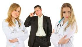 Personas de doctores Imagenes de archivo