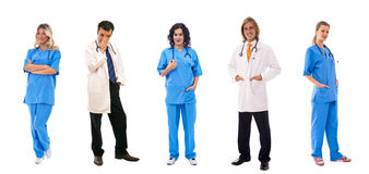 Personas de doctores Fotos de archivo