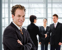 Personas de hombres de negocios Fotografía de archivo libre de regalías