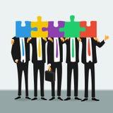 Personas de hombres de negocios acertados libre illustration
