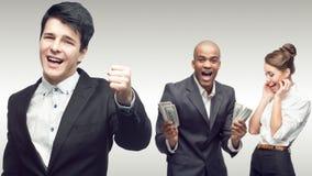 Personas de hombres de negocios acertados jovenes Fotografía de archivo libre de regalías