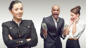 Personas de hombres de negocios acertados jovenes Imagen de archivo