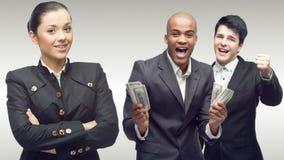 Personas de hombres de negocios acertados jovenes Fotos de archivo