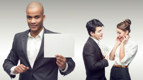 Personas de hombres de negocios acertados jovenes Imagenes de archivo