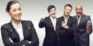 Personas de hombres de negocios acertados jovenes Foto de archivo libre de regalías