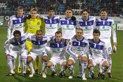 Personas de Kyiv del dínamo de FC imagenes de archivo
