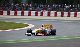 Personas de la fórmula 1: Renault Fotografía de archivo libre de regalías