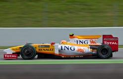 Personas de la fórmula 1: Renault Imagenes de archivo