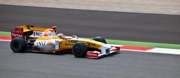 Personas de la fórmula 1: Renault Imagen de archivo