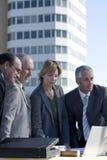 Personas de las hojas de operación (planning) arquitectónicas Foto de archivo