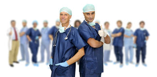 Personas de los doctores Fotos de archivo
