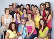 Personas de peluqueros Fotos de archivo libres de regalías