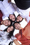 Personas del asunto en un grupo Imagen de archivo libre de regalías
