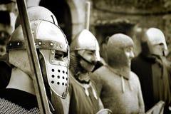 Personas del hierro Imágenes de archivo libres de regalías