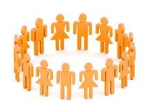 Personas del logotipo Foto de archivo