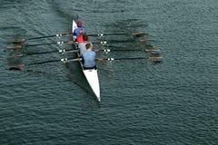 Personas del Rowing Fotografía de archivo