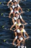 Personas del Rowing imagenes de archivo