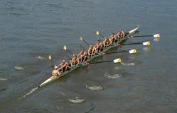 Personas del Rowing Imágenes de archivo libres de regalías