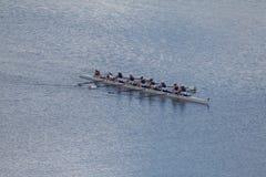 Personas del Rowing de las mujeres Foto de archivo libre de regalías