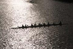 Personas del rowing del Mens Imagen de archivo