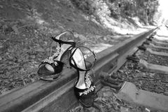 Personas descalzas foto de archivo libre de regalías