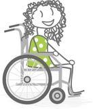 Personas discapacitadas Imagen de archivo libre de regalías