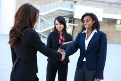 Personas diversas de la mujer de negocios Imagenes de archivo