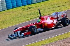 Personas Ferrari F1, Felipe Massa, 2011 Foto de archivo
