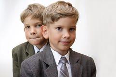 Personas futuras del asunto Foto de archivo